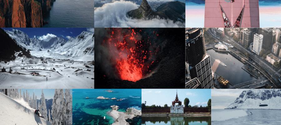 DJI und SkyPixel stellen einige der besten Luftbildvideos der Welt vor