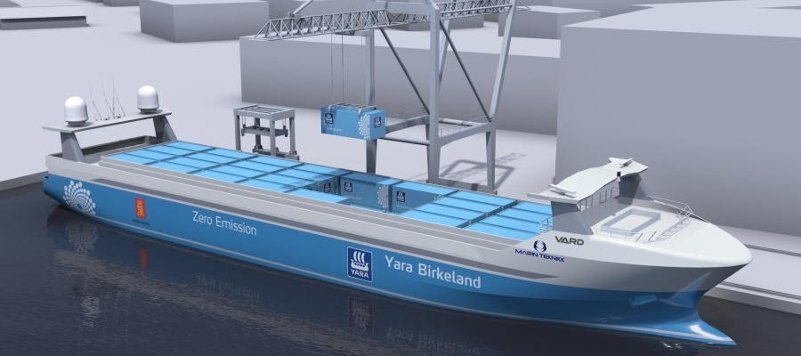 Projekt zur Entwicklung autonomer Binnenschifffahrt