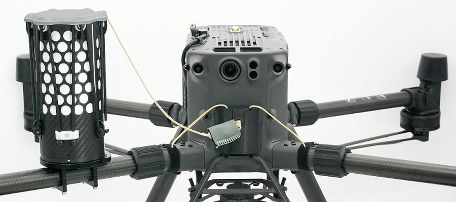 Fallschirmsystem von Drone Rescue Systems für DJI M300