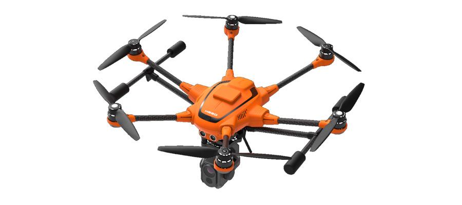 Yuneec H520 jetzt mit präziser RTK-Satellitennavigation erhältlich