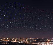 Intels Drohnen-Show beim Super Bowl