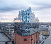 Die Elbphilharmonie aus der Sicht einer Drohne