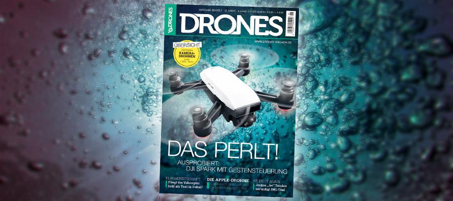 Ausgabe 5/2017 von Drones als Digitalmagazin erhältlich