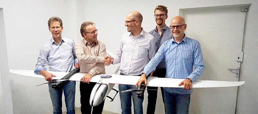 CONDOR-Gruppe beteiligt sich an Germandrones