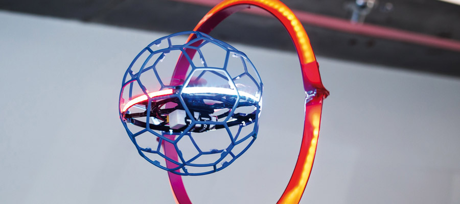 Teamsport Droneball