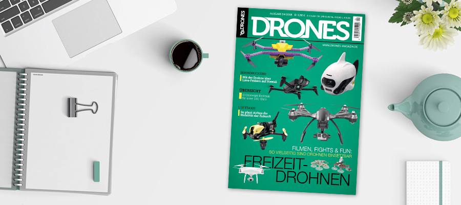 Drones 4/2018 ist da!