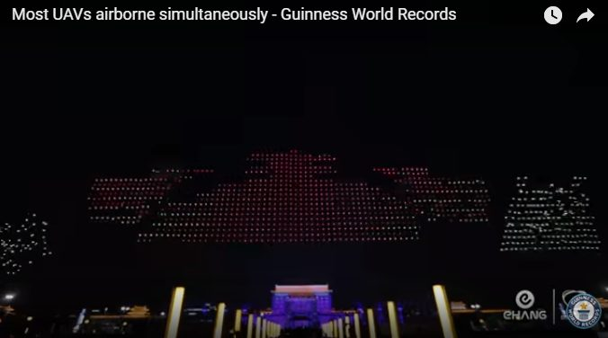 Ehang stellt neuen Weltrekord auf