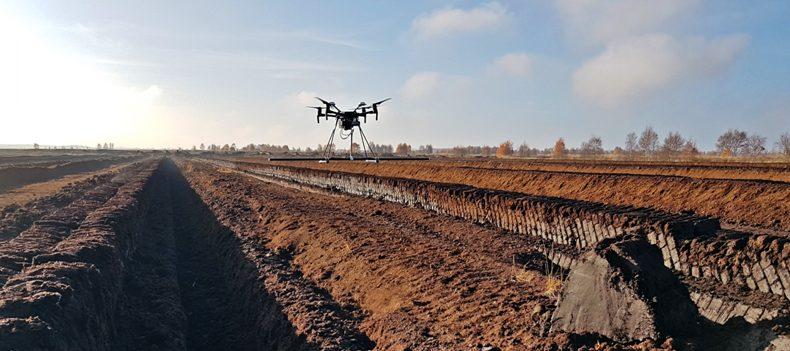 Drohne zur Kampfmittelsondierung