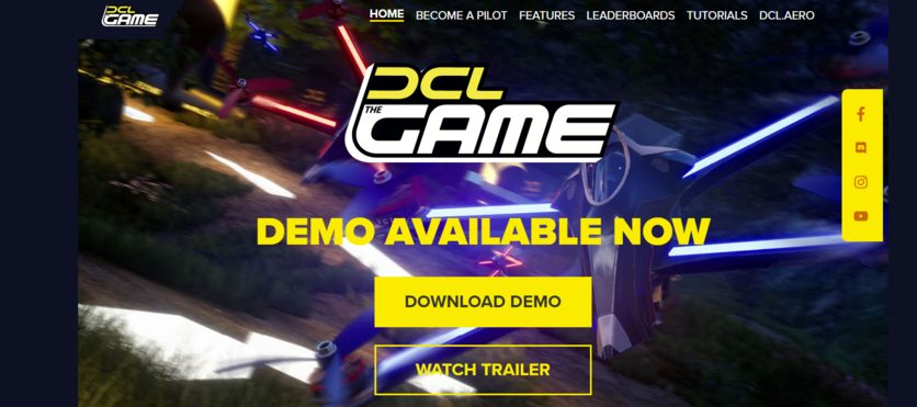 Drone Racing Simulator DCL-The Game