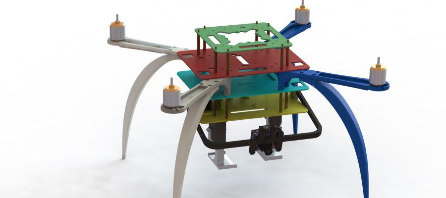 Drohnen-Forschung bei der Ford Motor Company