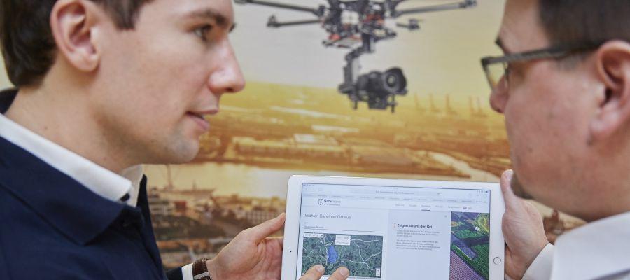 SafeDrone und die neue Plattformen für Drohnen-Dienstleistungen